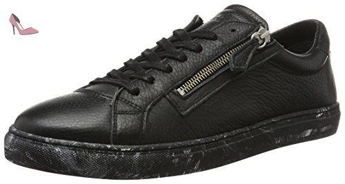 Tommy Hilfiger L2385oop 1a, Sneakers Basses Homme, Noir