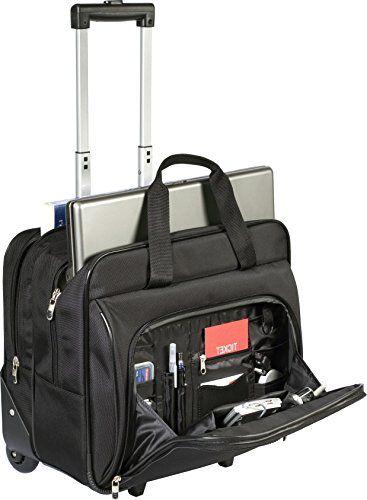 cf9d0d6e2df6 Targus Metro Roller Laptop Case for 16-Inch Laptop, Black (TBR003US ...