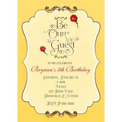 Disney Party Invitation as perfect invitations example