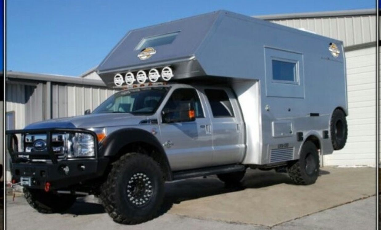 The new capable is built on a ford chassis and complimented by a composite camper shell that s offered in two available lengths and three