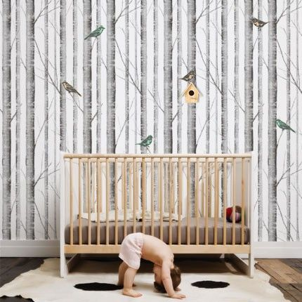 Cool Idea Removable Wallpaper Tree wallpaper living