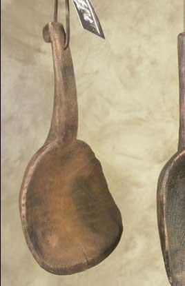 Primitive Farmhouse Treenware Butter Paddle Lard Scoop