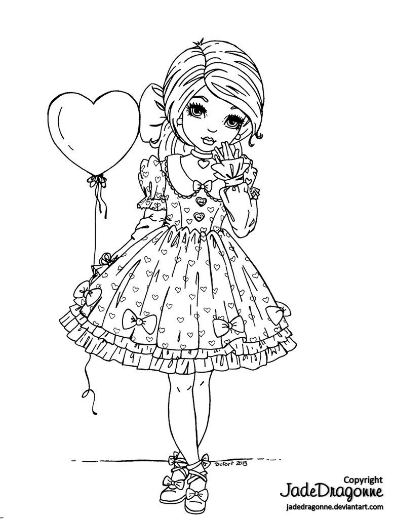 The Angelic Pretty Coloring Book   Coloring books, Adult coloring ...   1025x780