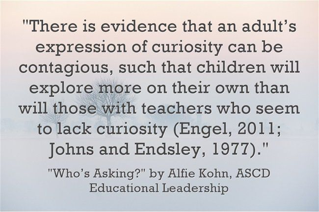 I Think This Column On Asking Questions Is One Of The Best Piece S Alfie Kohn Has Ever Written This Or That Questions Teacher Inspiration Teacher Resources