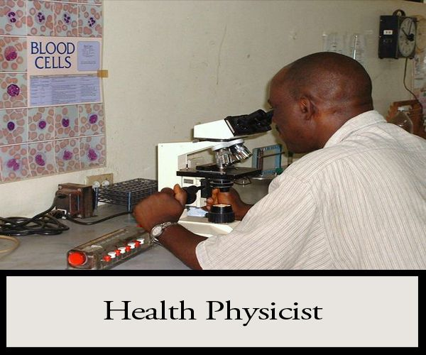 Health Physicists provide critical indepth, scientific