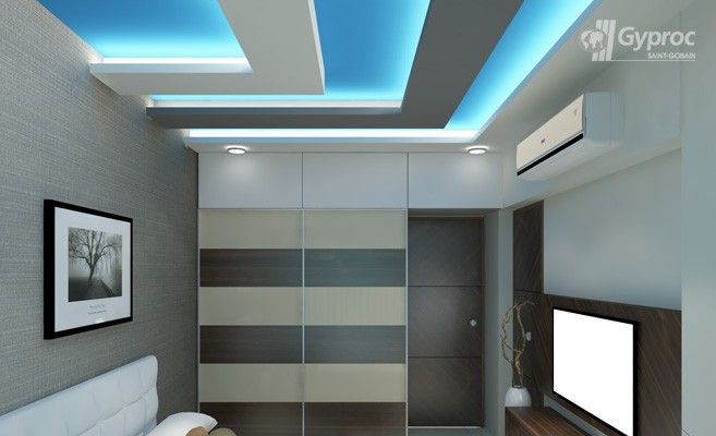false ceiling designs for bedroom saint gobain gyproc india - Bedroom False Ceiling Designs