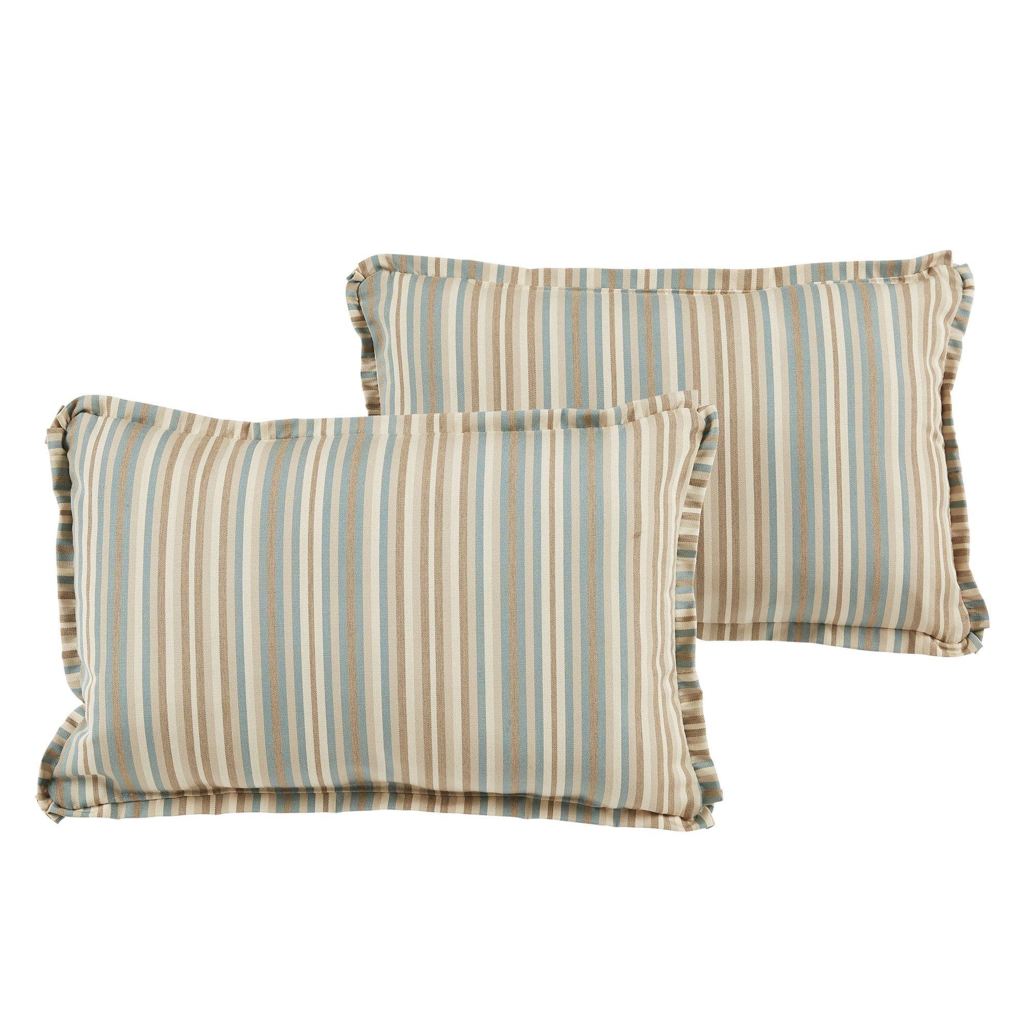 Ianna Indoor/Outdoor Sunbrella Lumbar Pillow