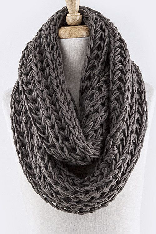 40 Knitted Scarves Ideas For Fashionable Girls Pinterest Knit