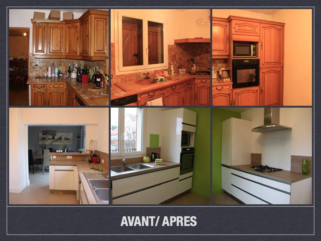 avant apres cuisinr livry 001 cuisine en 2019 home. Black Bedroom Furniture Sets. Home Design Ideas