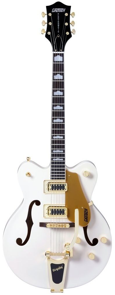 Gretsch G5422TDC Electromatic Hollow Body Guitar (Snow Crest White ...