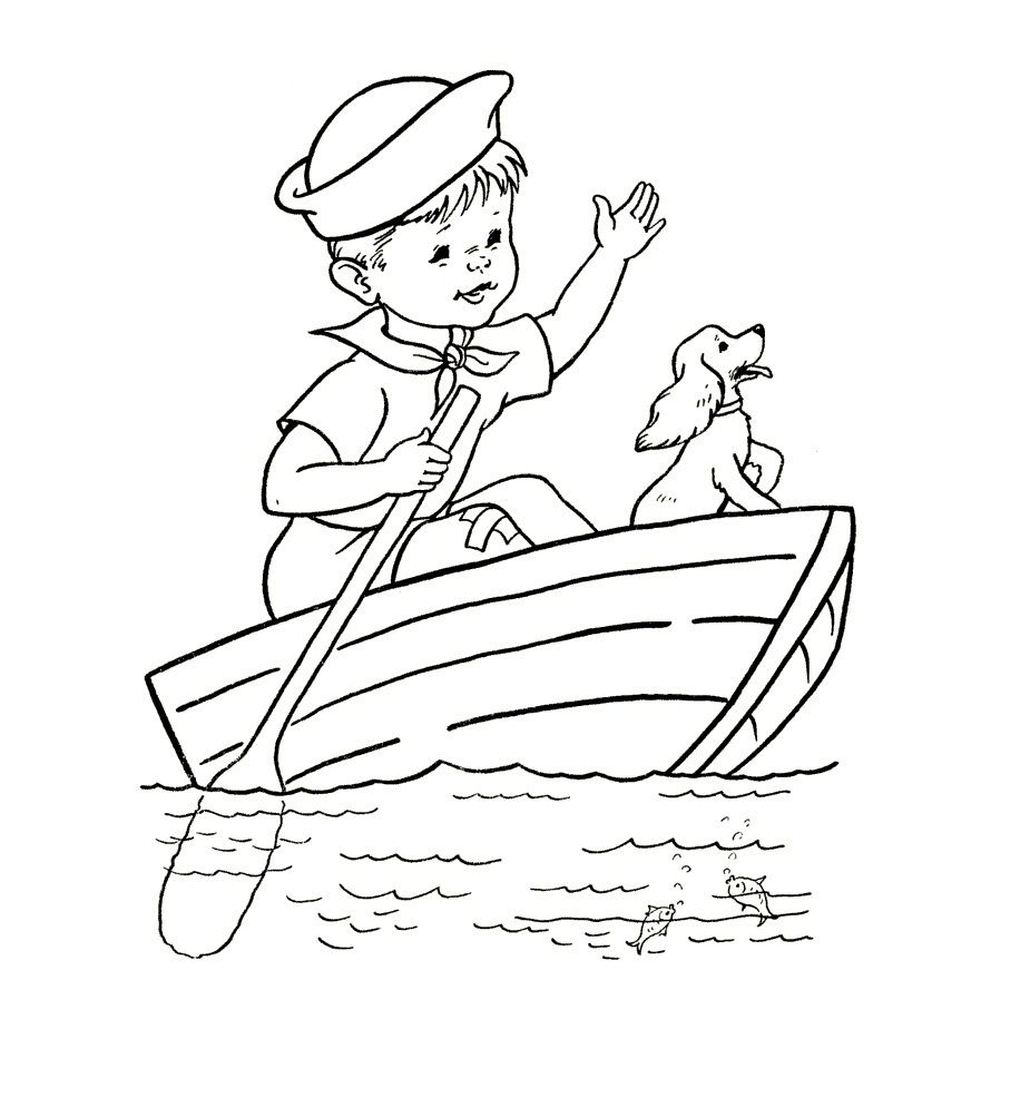 Free Printable Boat Coloring Pages For Kids Best Coloring Pages For Kids Coloring Books Coloring Pages Free Coloring Pages [ 1003 x 925 Pixel ]