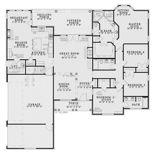 House Plans Home Plans And Floor Plans From Ultimate Plans Ranch House Plans New House Plans How To Plan