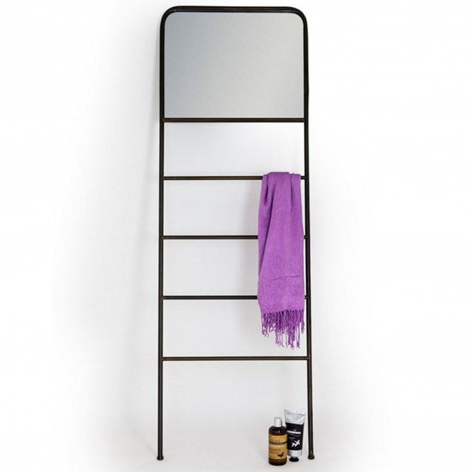 Industrial Leaning Mirror | Mirrors | Floorstanding Mirrors