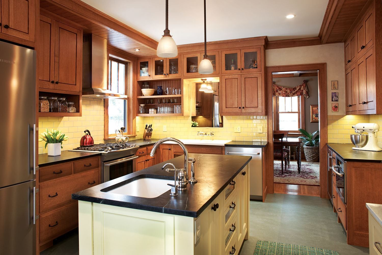 this minneapolis craftsman house got a kitchen makeover in the 1980s but not the one this minneapolis craftsman house got a kitchen makeover in the      rh   pinterest com