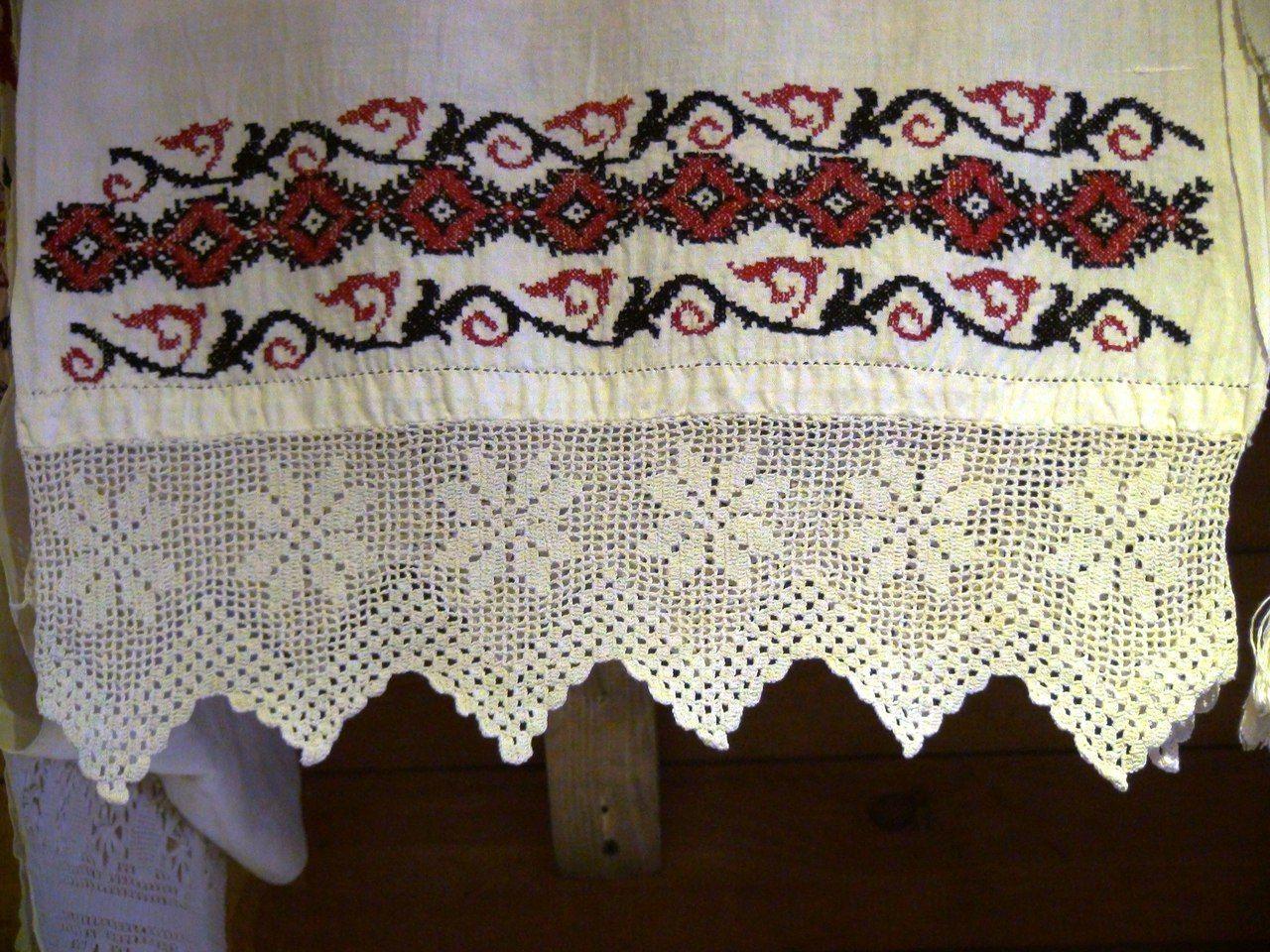 схема вышивки свадебного рушника в рм
