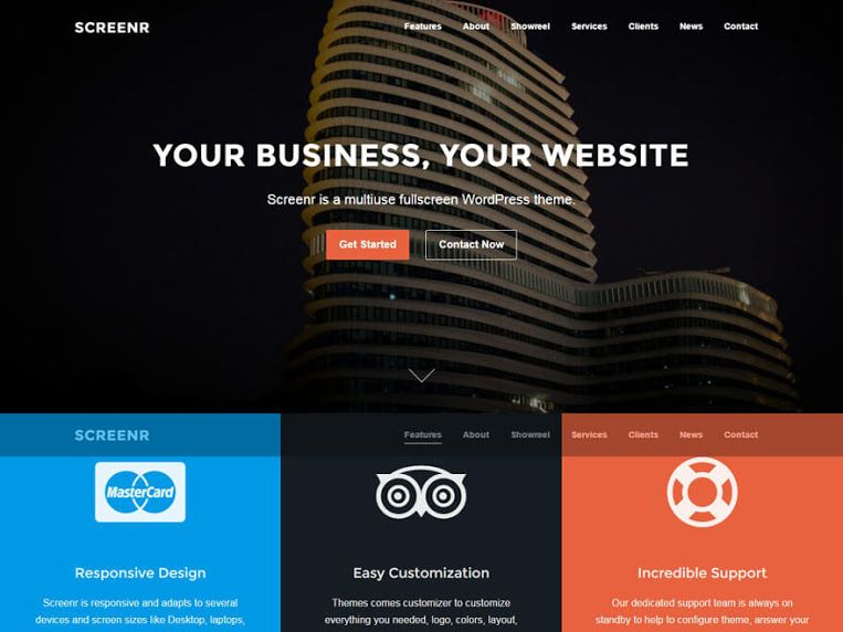 30 Best Free Wordpress Landing Page Themes And Templates