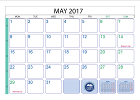 print free monthly calendar