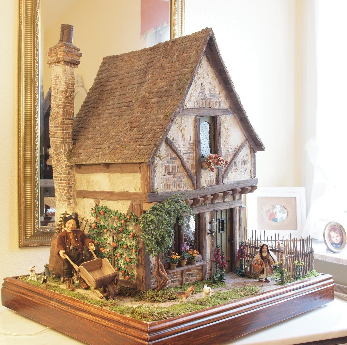 karin caspar modellh user pinterest puppenstube puppentheater und weihnachtsbasteleien. Black Bedroom Furniture Sets. Home Design Ideas