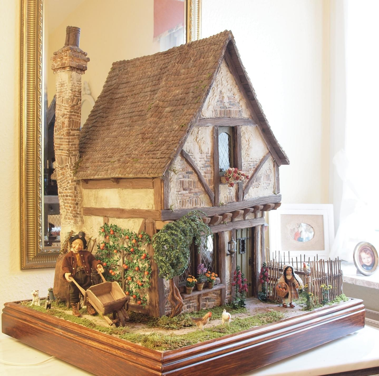 karin caspar modellh user pinterest puppenstube miniatur und puppentheater. Black Bedroom Furniture Sets. Home Design Ideas