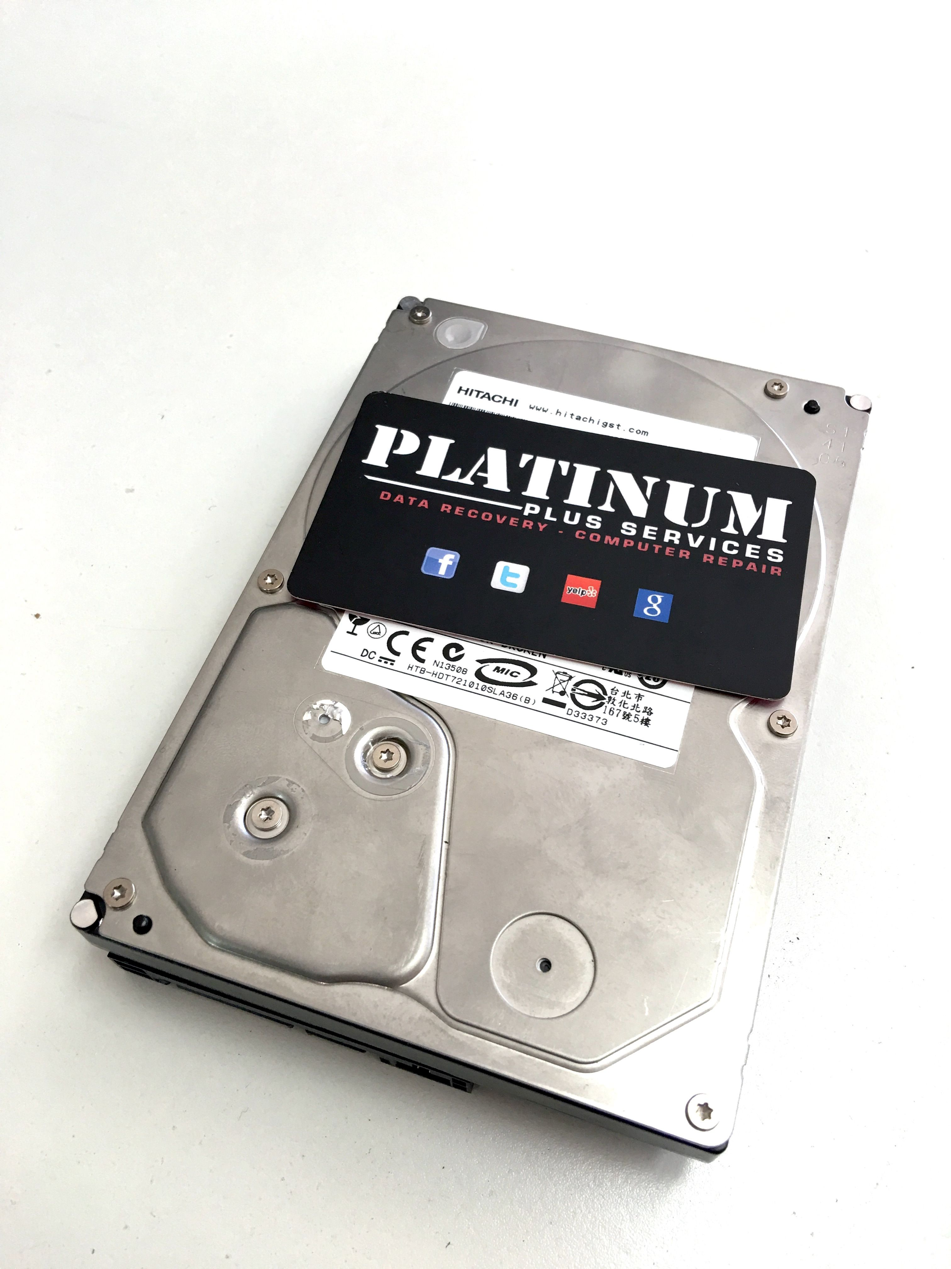 datarecovery hitachi internal hard drive we were able to retrieve