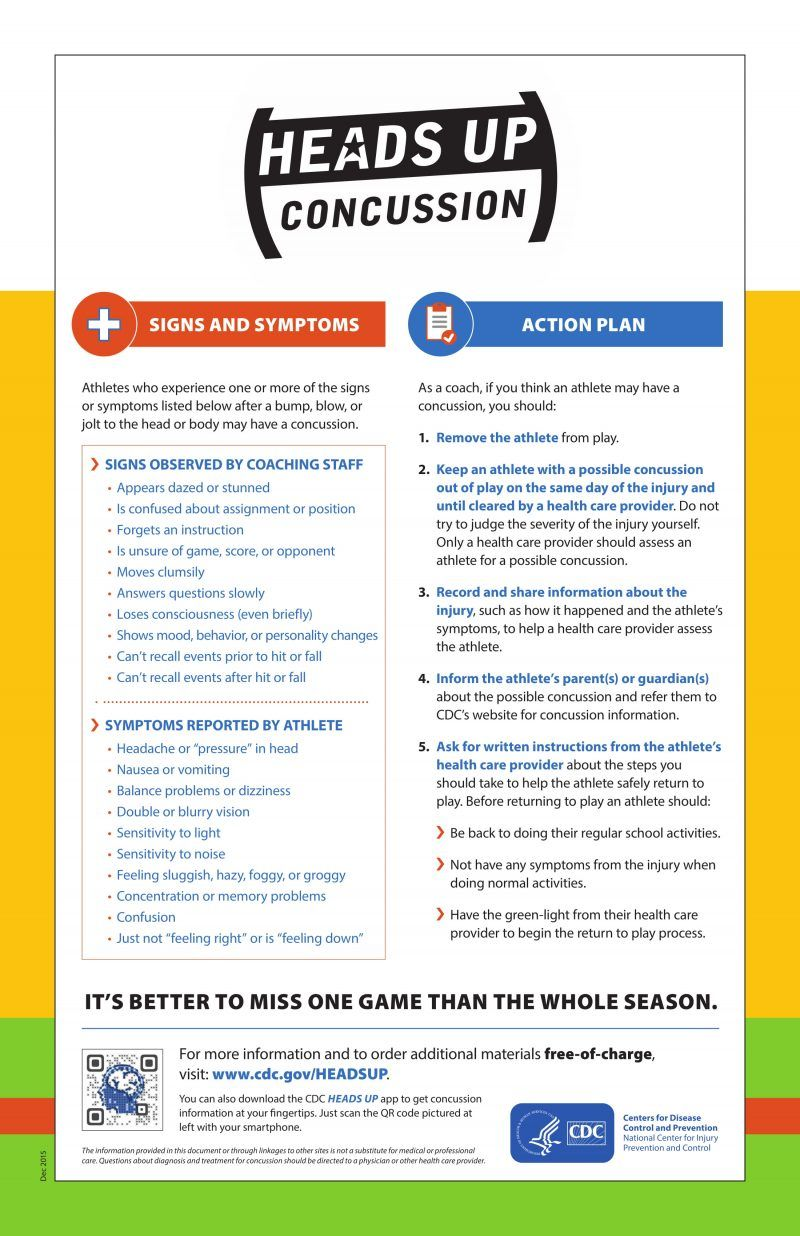 Youth Sports Safety 40 Real Concussion Facts Parents Need To Know