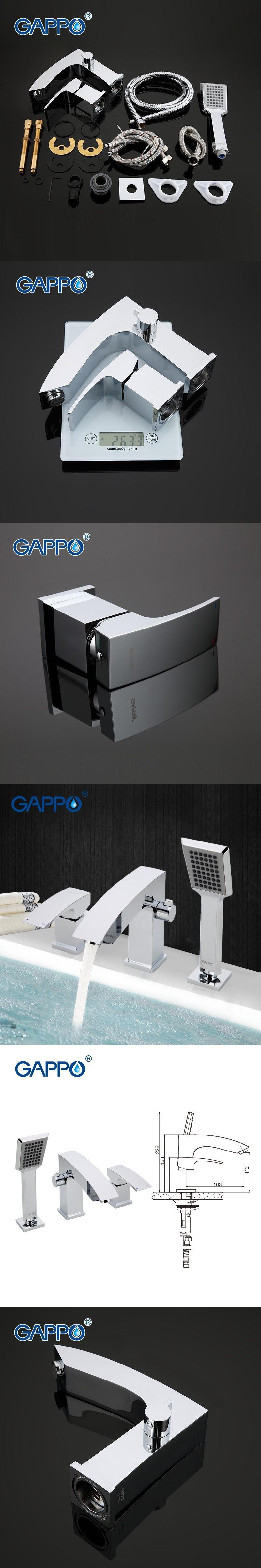 GAPPO bathroom shower faucet Bathtub Faucet tap bath shower shower ...