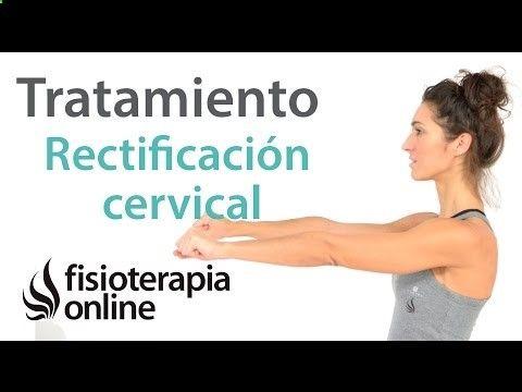 Rectificacion cervical - Ejercicios, automasajes y estiramientos para aliviar el dolor - YouTube
