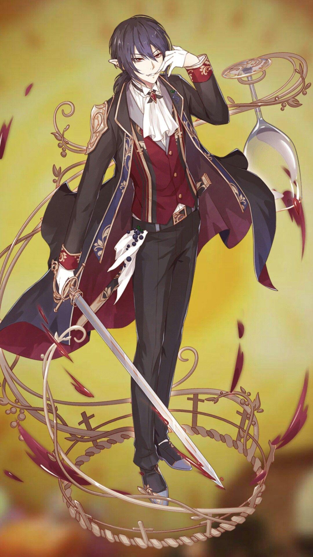 Rượu vang đỏ (Red Wine) Food fantasy, Anime art fantasy
