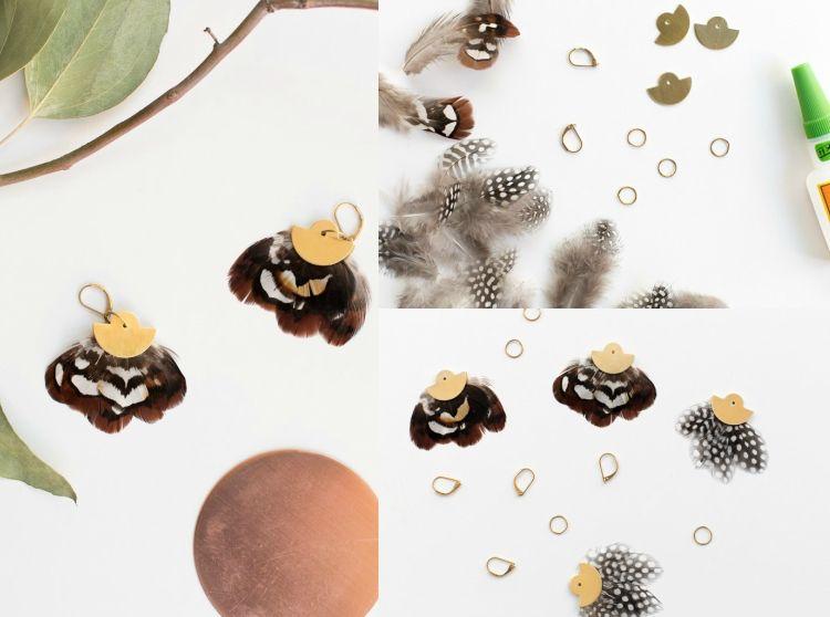 Mit Federn Basteln Basteltipps Und 13 Kreative Diy Projekte