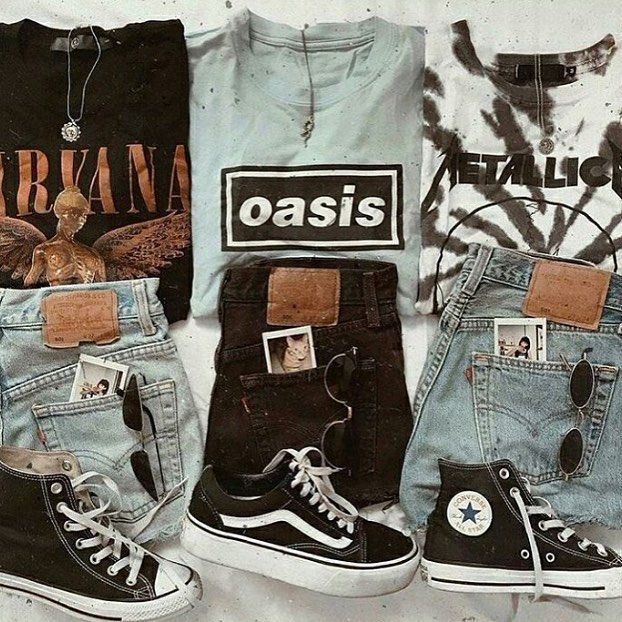 "Noise Grrrl on Instagram: ""【Grunge Clothing Brand】 ☆ ☆ ☆ #nirvana #o #grungeoutfits"