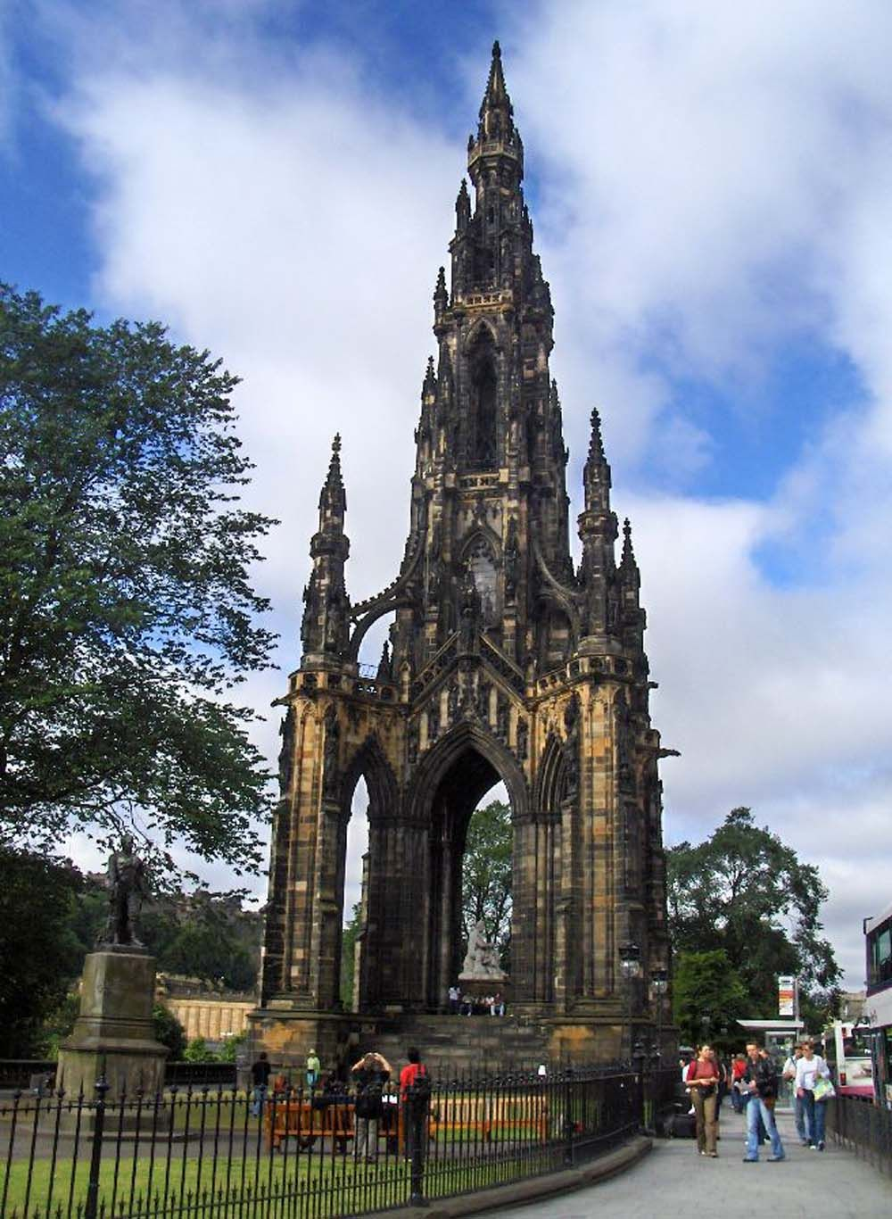 Scott Monument. What To Do In Scotland: 35 Amazing Treasures to See While in Scotland. stayreport.com