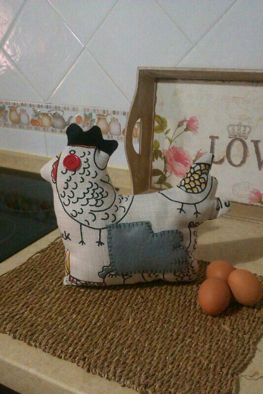 Gallina decorativa