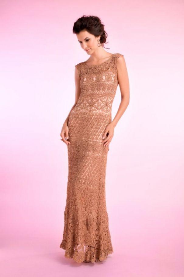 vestido | Prendas de Vestir a Crochet | Pinterest | Vestiditos ...