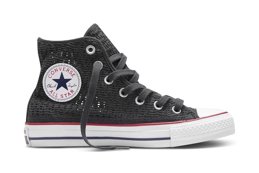 Converse Chuck Taylor All Star Crochet - Zapatillas altas gris ...