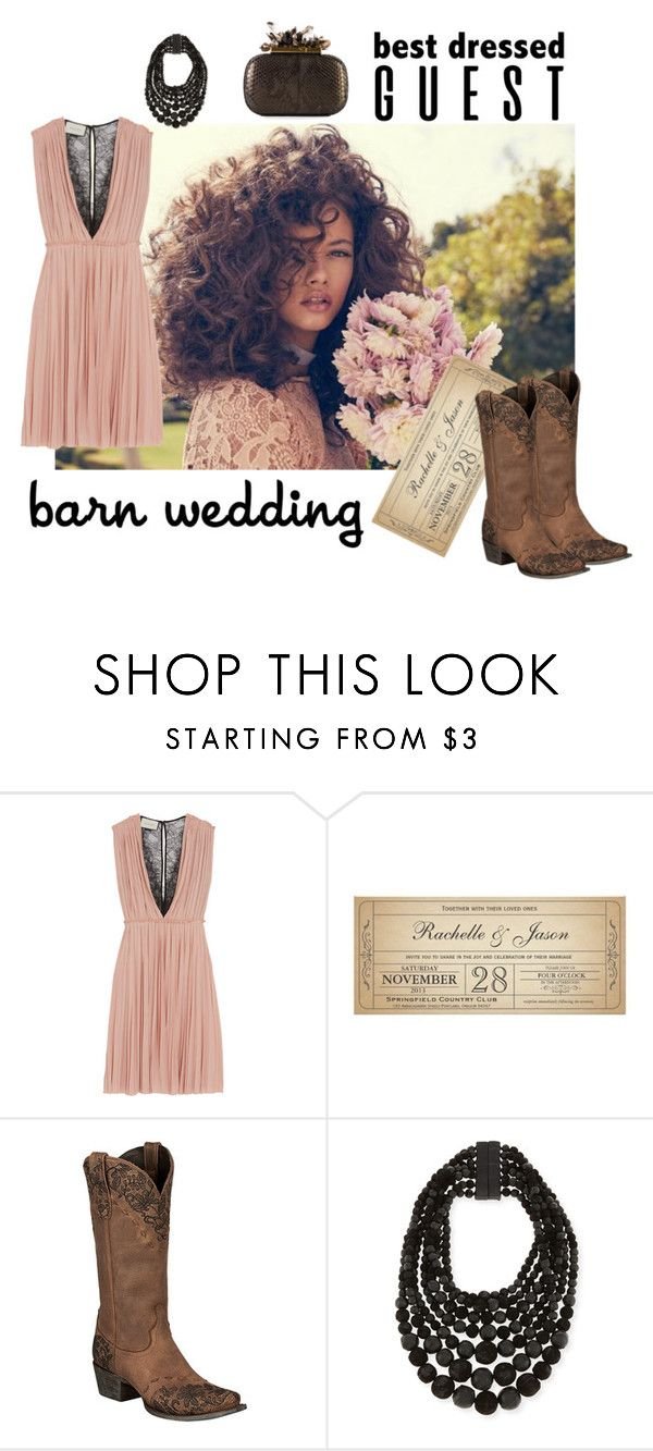 """""""Untitled #229"""" by daisie4100 ❤ liked on Polyvore featuring Gucci, Lane, URBAN ZEN, bestdressedguest and barnwedding"""
