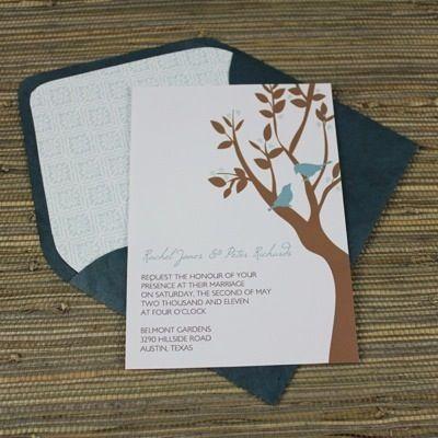 Invitation Template u2013 Love Birds in Tree Invitation templates - love templates free