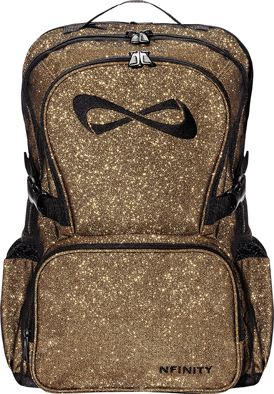 Twisted Sportswear Nfinity Sparkle Backpack Gold Call Us 717