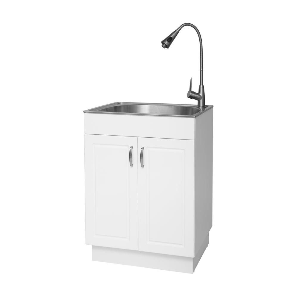 55+ All In One Utility Sink and Cabinet - Kitchen Cabinets ...