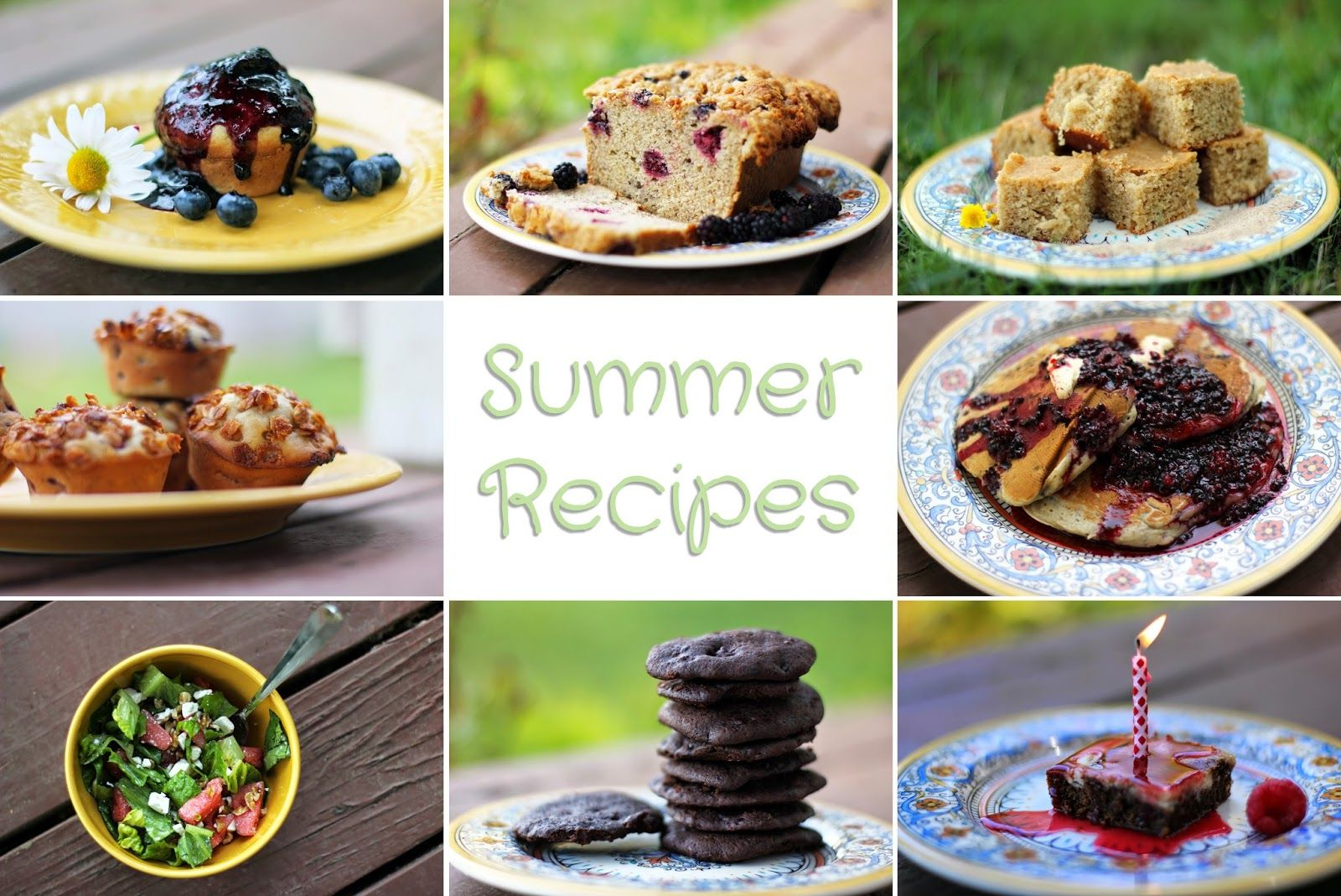 Rya Pie: Some Summer Recipes