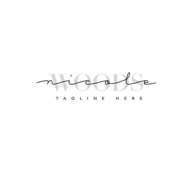 Photography Logo, Logo Photography, Premade Logo, Premade Logo Design, Premade Logos for Sale, Feminine Logo, Typography Logo, Logo Template
