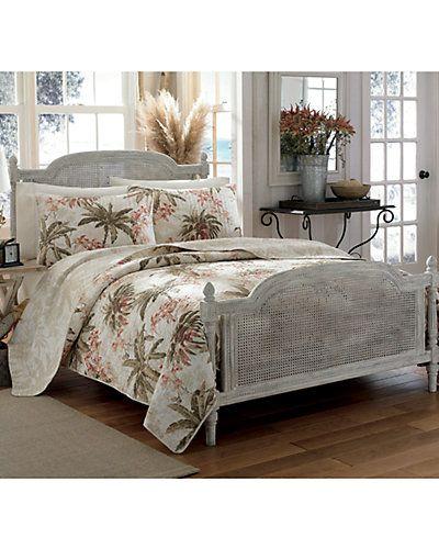 Rue La La Tommy Bahama Tropical Orchid Quilt Set Quilt Sets