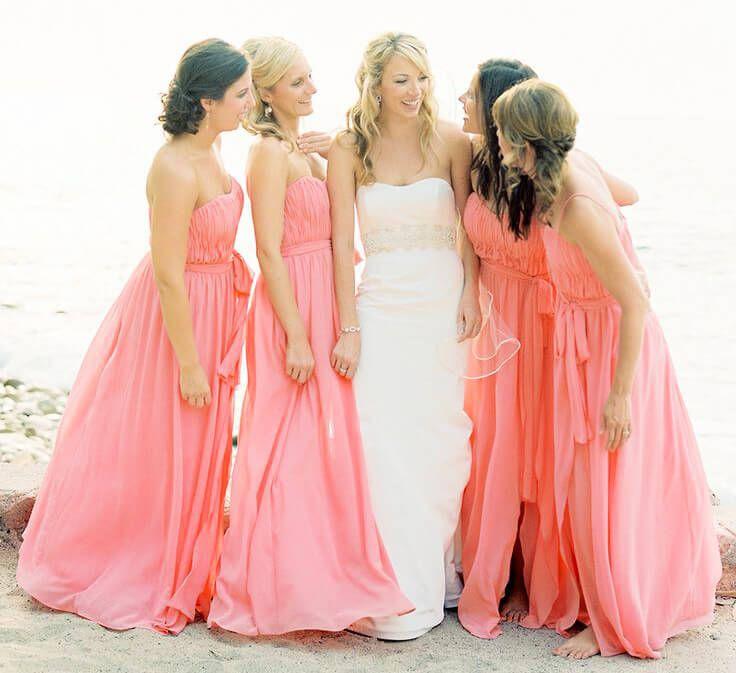 Nuevos Hermosos Vestidos para Damas de Honor de Boda | boda en la ...