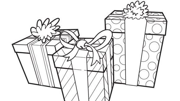 Birthday Presents Coloring Page Free Birthday Coloring Pages For Children Birthday Coloring Pages Coloring Pages Coloring Books