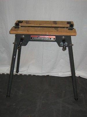 Rare Vintage Craftsman Portable Companion Ii Vise Top Work Bench Vintage Craftsman Workbench Craftsman