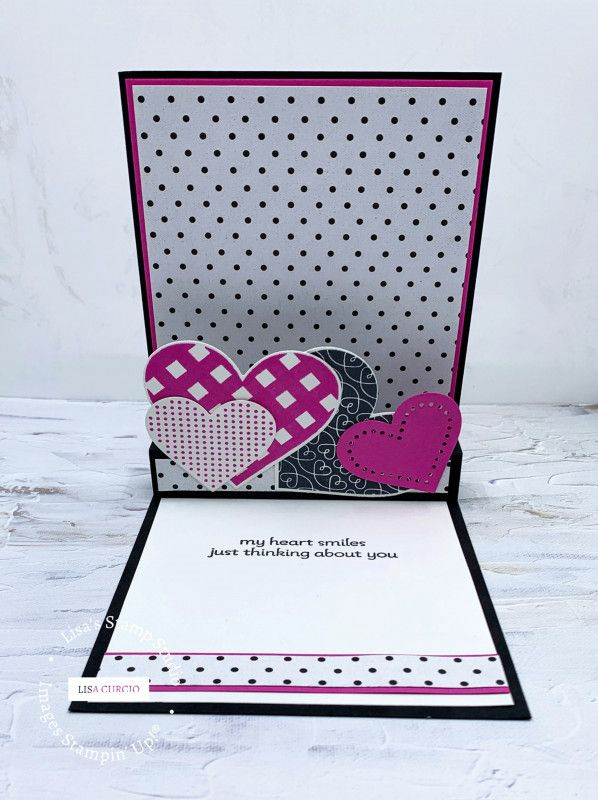 Lots of Hearts a Poppin' by lisacurcio2001 - Cards