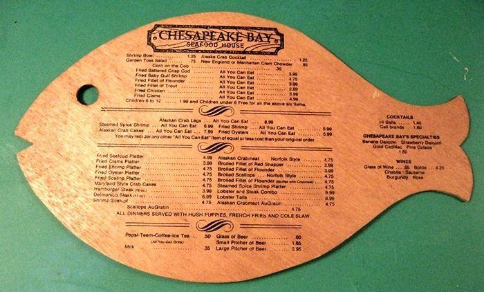 bethesda crab house menu