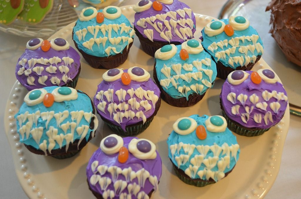 owl cupcakes (4)