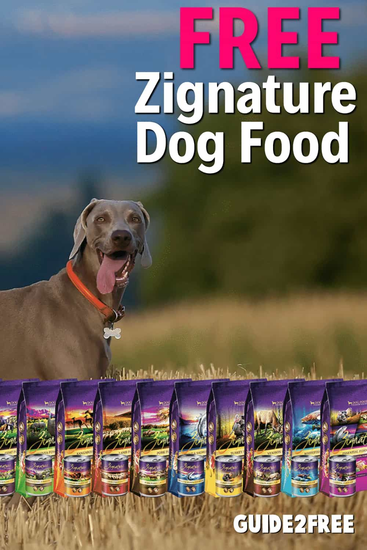Free zignature dog food dog food recipes formula