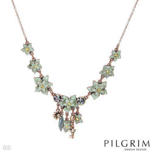 PILGRIM Skanderborg, Denmark Enamel Crystal Ladies Necklace. Total Item weight 17.6 g. PILGRIM Skanderborg, Denmark. $24.00. Save 59%!