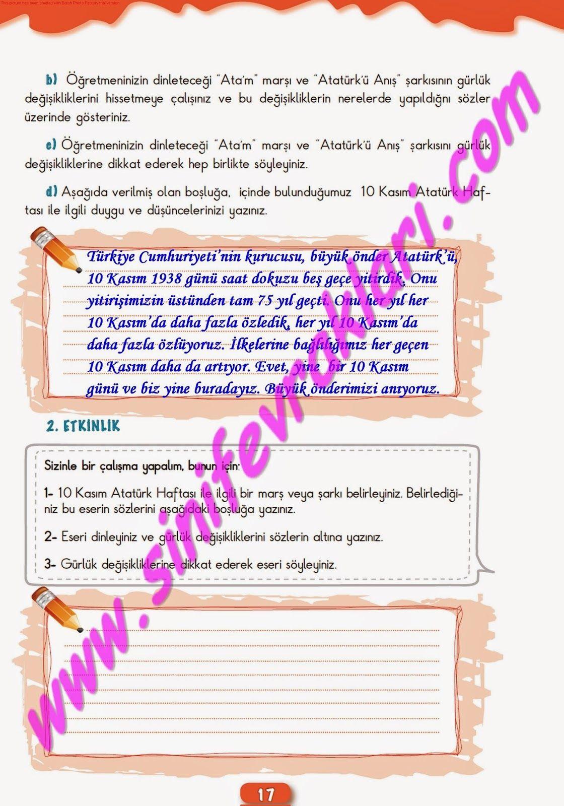 6sınıf Müzik çalışma Kitabı Cevapları Meb Yayınları Sayfa 17 6